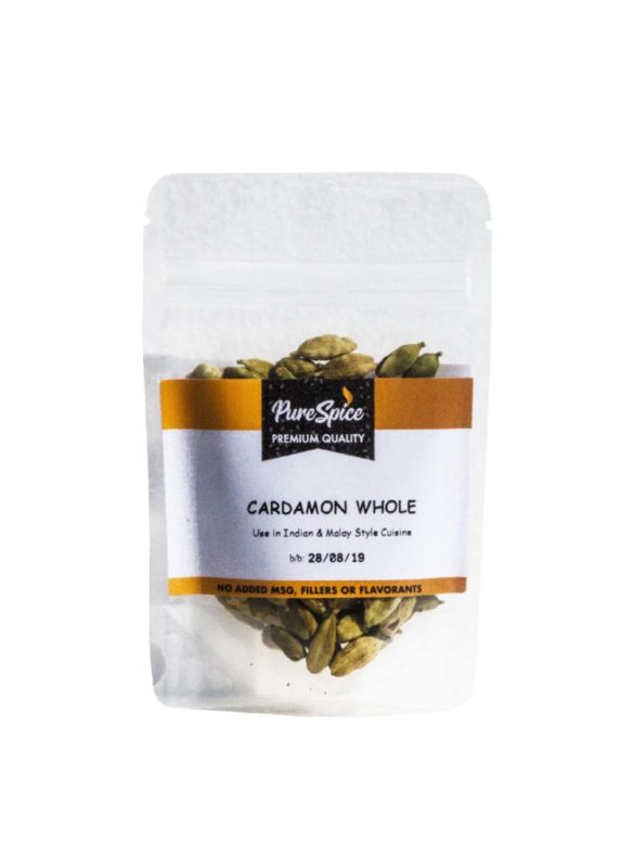 Pure Spice Cardamom Whole Refill