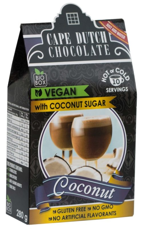 VEGAN COCONUT HOT CHOCOLATE with Coconut Sugar