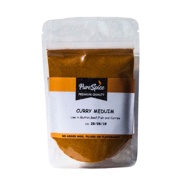 Pure Spice Curry Medium Refill