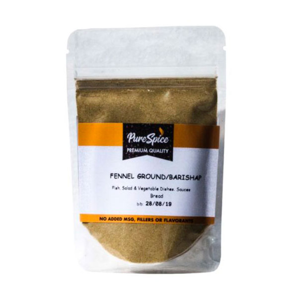 Pure Spice Fennel Ground Refill