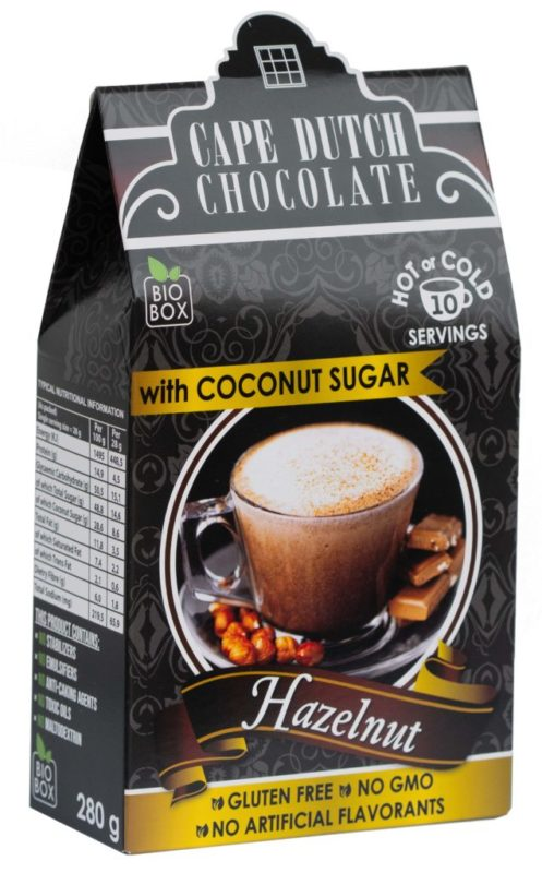 HAZELNUT HOT CHOCOLATE with Coconut Sugar