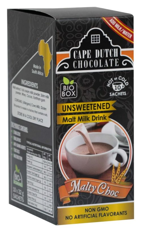 NEW! MALTY CHOCOLATE – Unsweetened