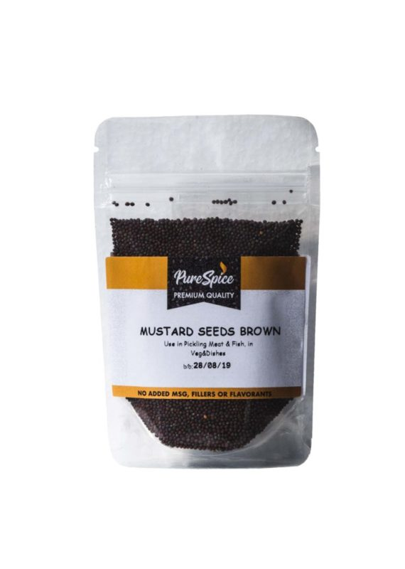 Pure Spice Brown Mustard Seeds Refill