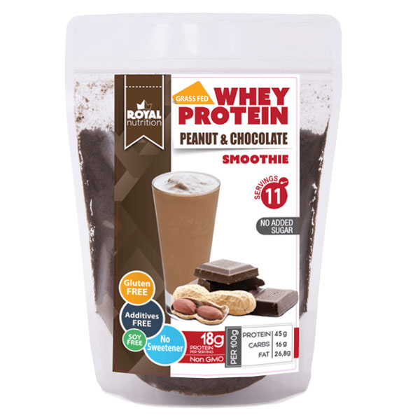 PEANUT CHOCOLATE WHEY SMOOTHIE