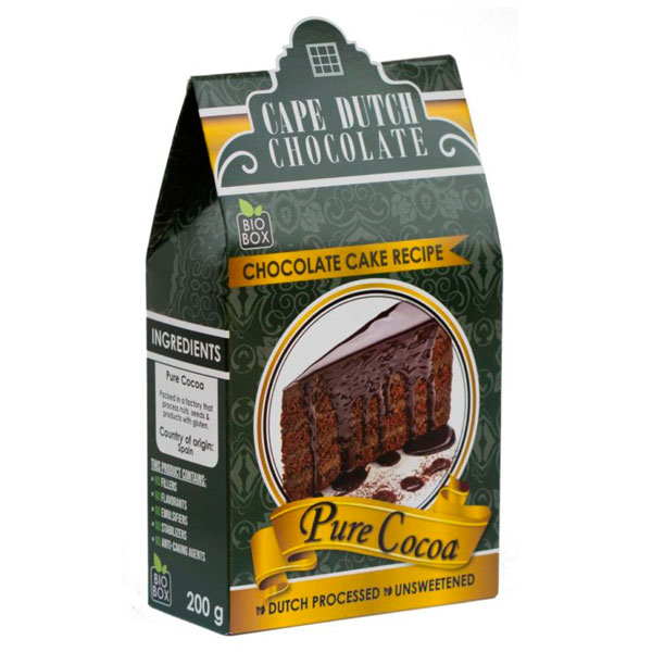 Pure Cocoa – Dutched Processed