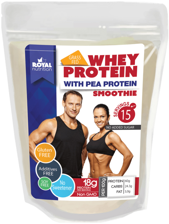 WHEY PROTEIN SMOOTHIE with Pea Protein