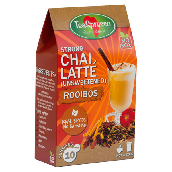 STRONG CHAI LATTE – Unsweetened