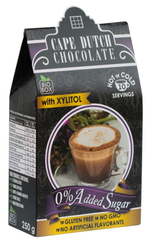 0% ADDED SUGAR HOT CHOCOLATE with Xylitol