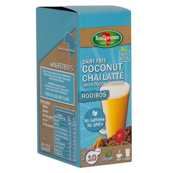 DAIRY FREE COCONUT CHAI – with Coconut sugar (Vegan)