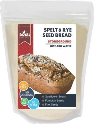 SPELT & RYE SEED BREAD