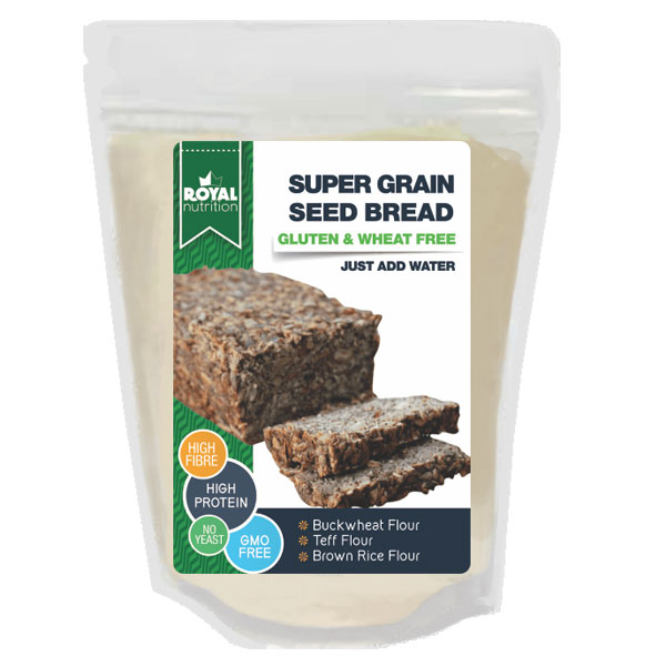SUPER GRAIN SEED BREAD – Gluten & Wheat Free