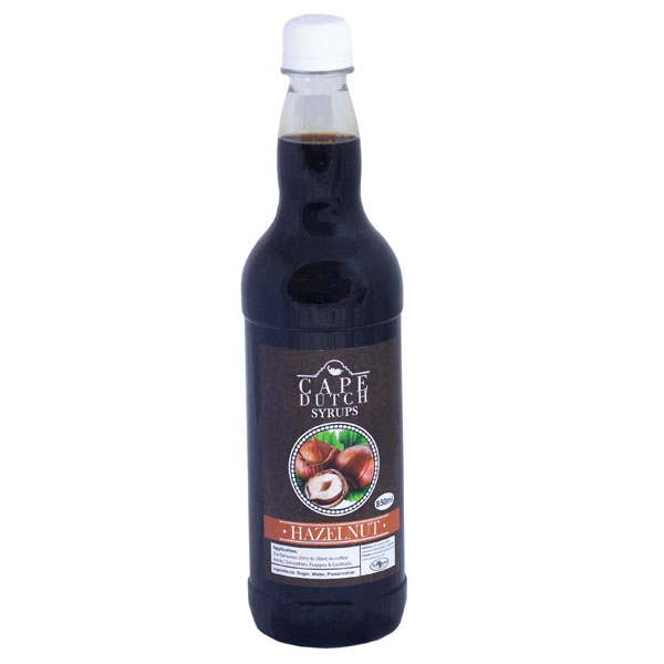 Cape Dutch Hazelnut Syrup
