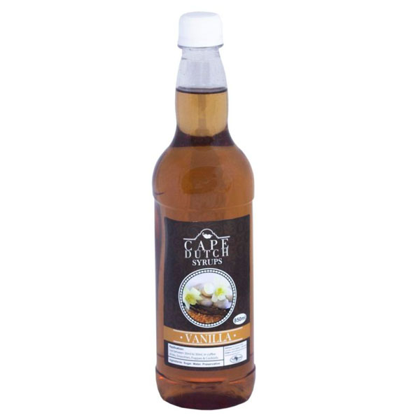 Cape Dutch Vanilla Syrup