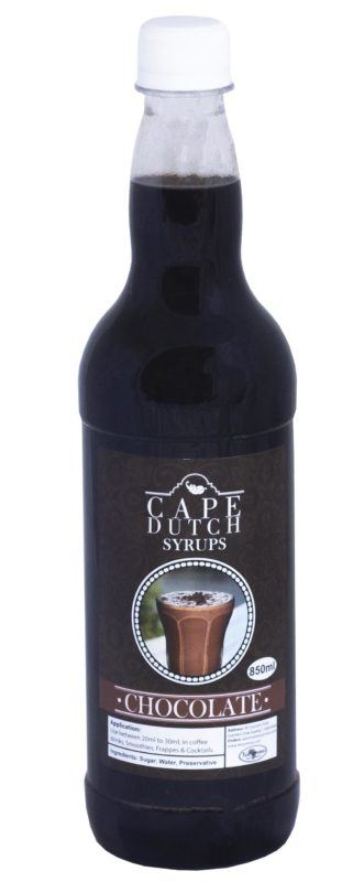 Cape Dutch Chocolate Syrup