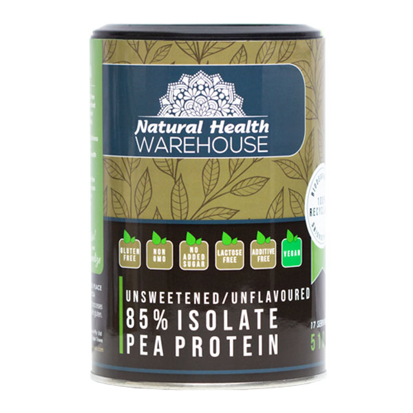 Natural Health Pea Protein Isolate 85%
