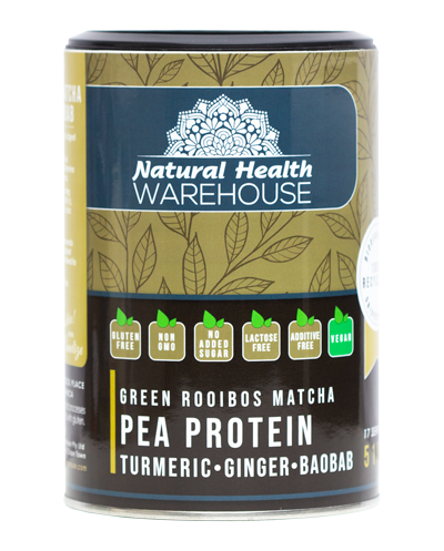 Natural Health PEA PROTEIN Matcha Turmeric & Ginger 510g