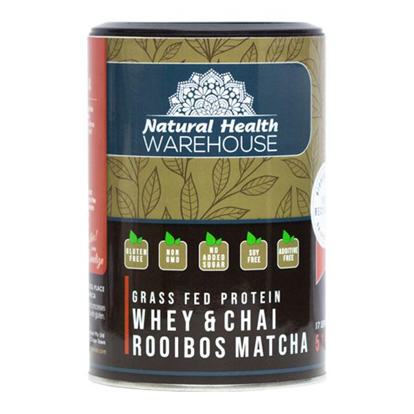 Natural Health Whey Protein Rooibos Matcha Chai 73.4% 510g