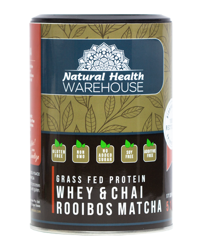 Natural Health Whey Protein Rooibos Matcha Chai 73.4% 510g