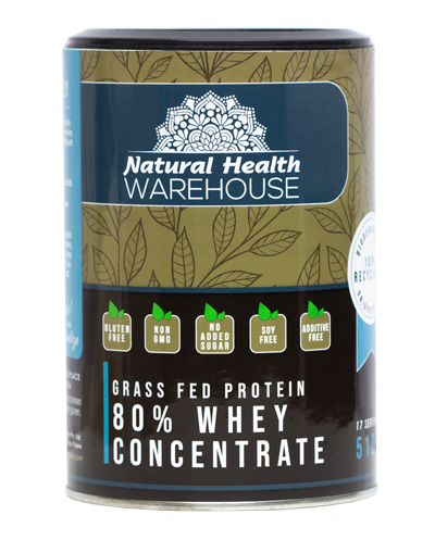 Natural Health Whey Concentrate 80% 510g