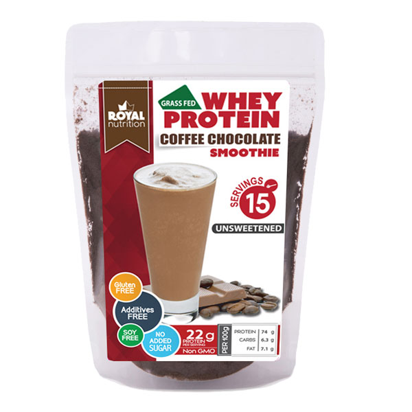 Royal Nutrition Whey Coffee Chocolate Protein Smoothie 450g